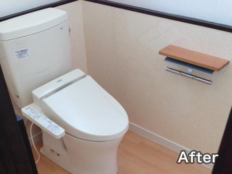和式トイレから洋式トイレへの事例